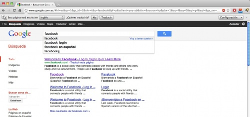 lo mas buscado en Google por los ecuatorianos